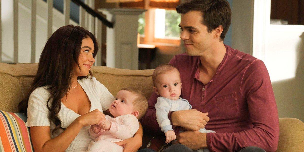 Sarah Hyland, Reid Ewing - Modern Family