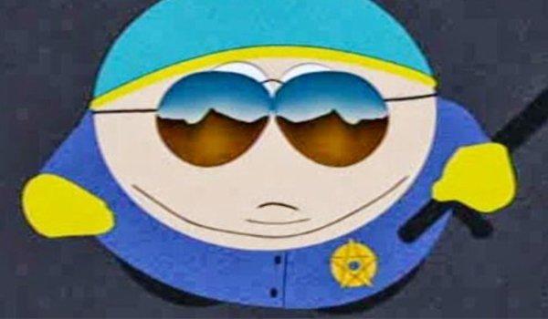 Officer Eric Cartman on South Park