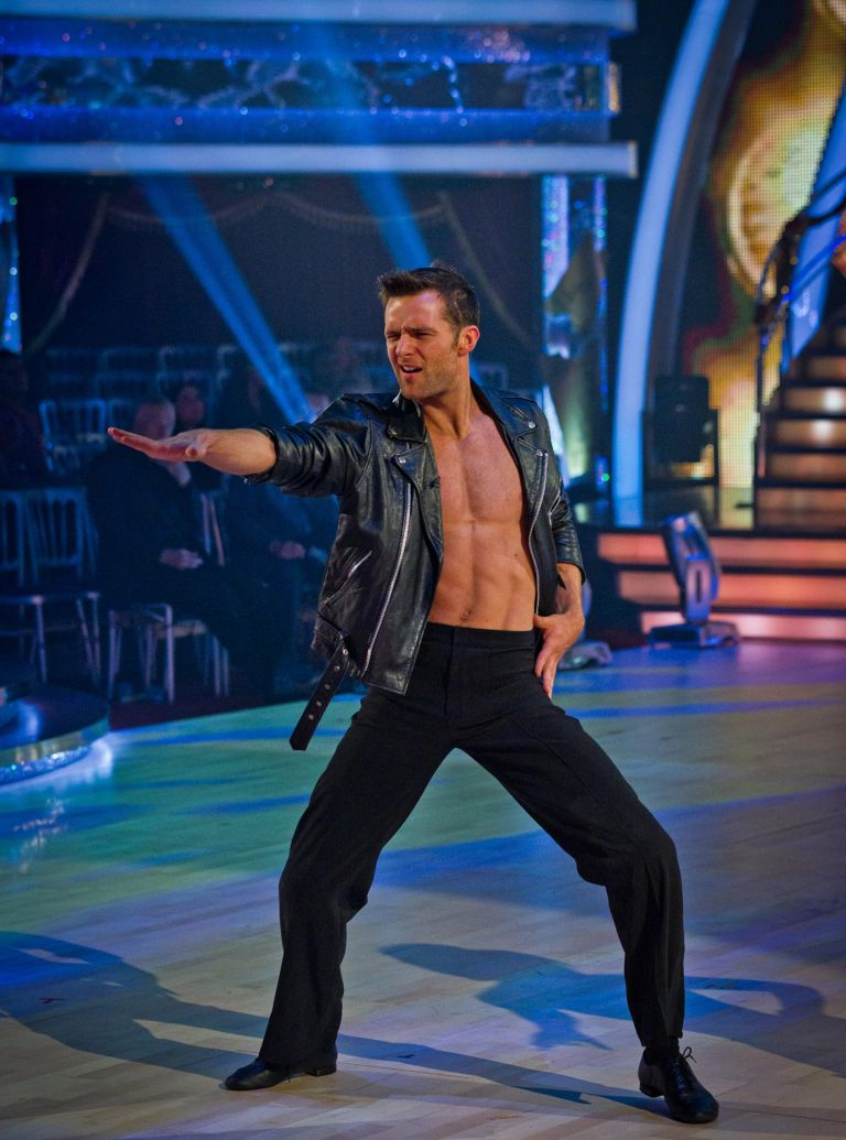 Harry Judd dances the jive in Strictly