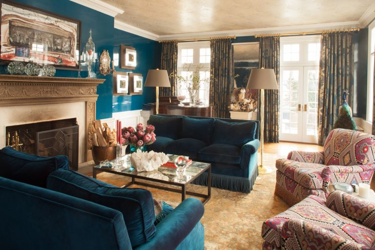 Dorinda Medley's Blue Stone Manor in the Berkshires, now on Airbnb