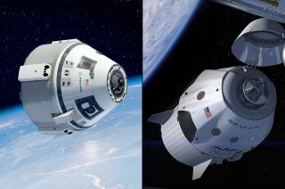 Boeing's CST-100 and SpaceX's Dragon