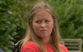 Emmerdale spoilers! Liv Flaherty struggles to write her speech ahead of Aaron and Robert's upcoming wedding