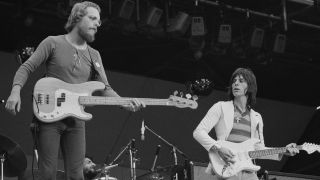 Beck, Bogert And Appice performing at the 'Rock At The Oval' festival, London, 16th September 1972
