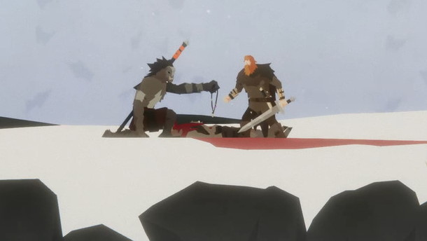 Unto the End is a stylish combat platformer that encourages you not to fight