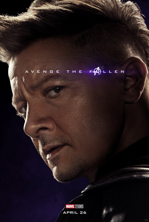 Hawkeye is back in Avengers: Endgame poster