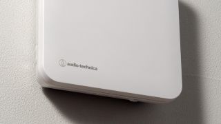 Audio-Technica has begun shipping the ATW-A410P UHF Powered Wideband Antenna, a low-profile UHF (470-990MHz) antenna that mounts to a wall or ceiling.