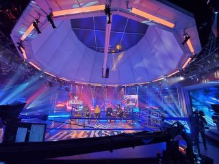 Elation's Fuze lights up WWE Backstage on Fox Sports, with lighting design by Victor Fable. The show premiered last November from Stage A at Fox Studios in Los Angeles.