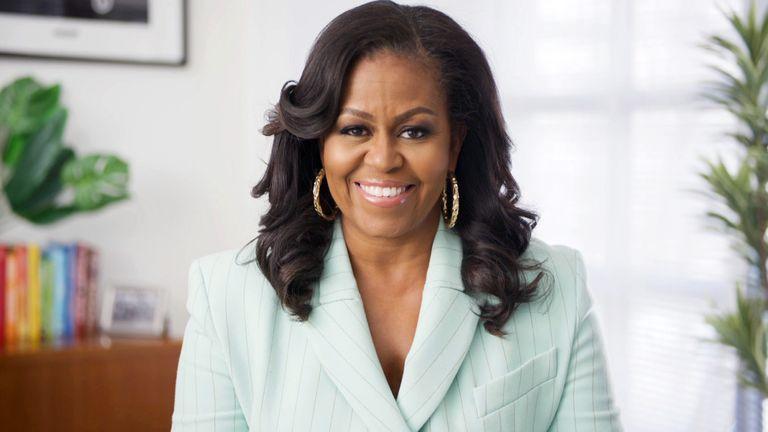 Michelle Obama via Zoom
