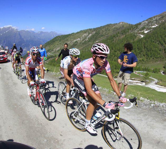 Alberto Contador, Giro d'Italia 2011, stage 20