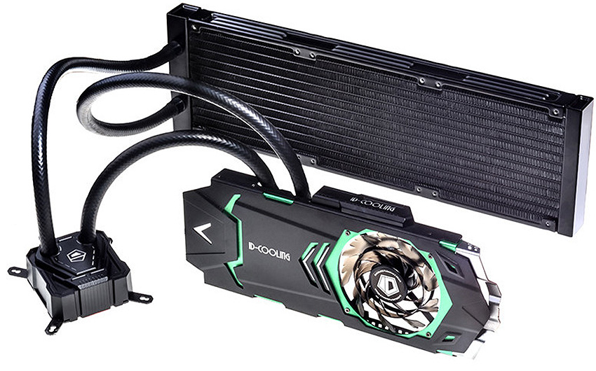Cool both your graphics card and CPU with this all-in-one liquid cooler