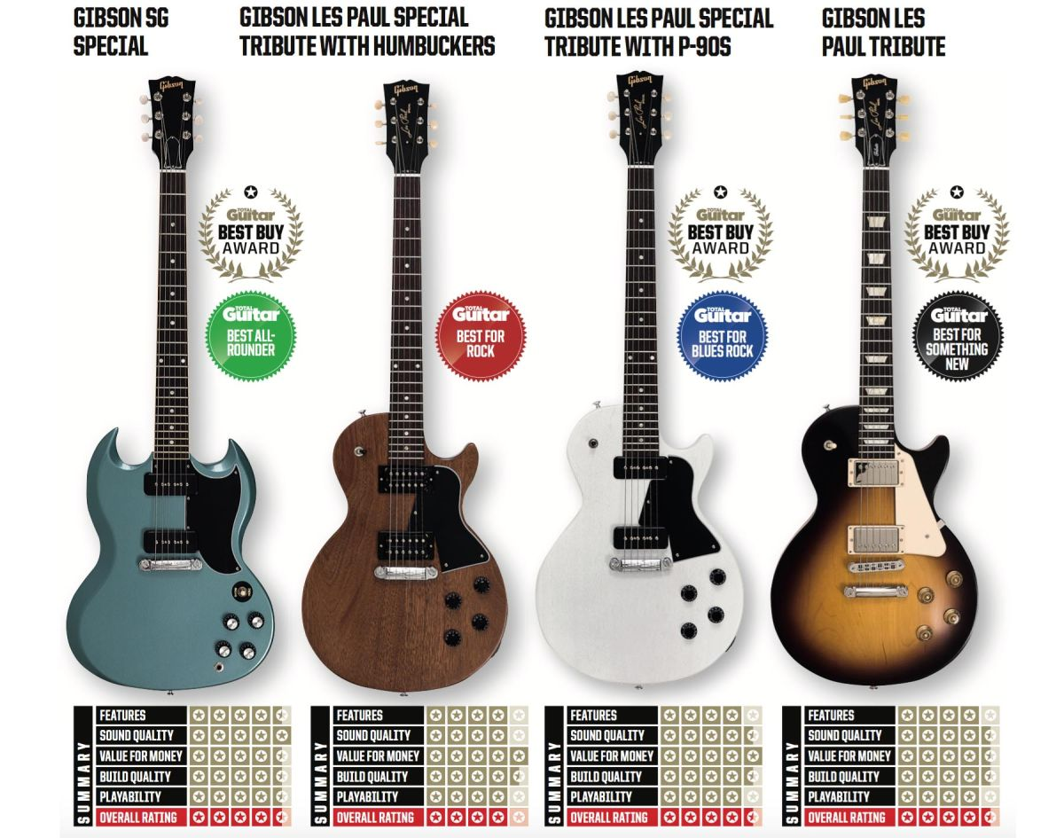 Gibson 2020 Les Paul Sg Review Round Up Guitar World