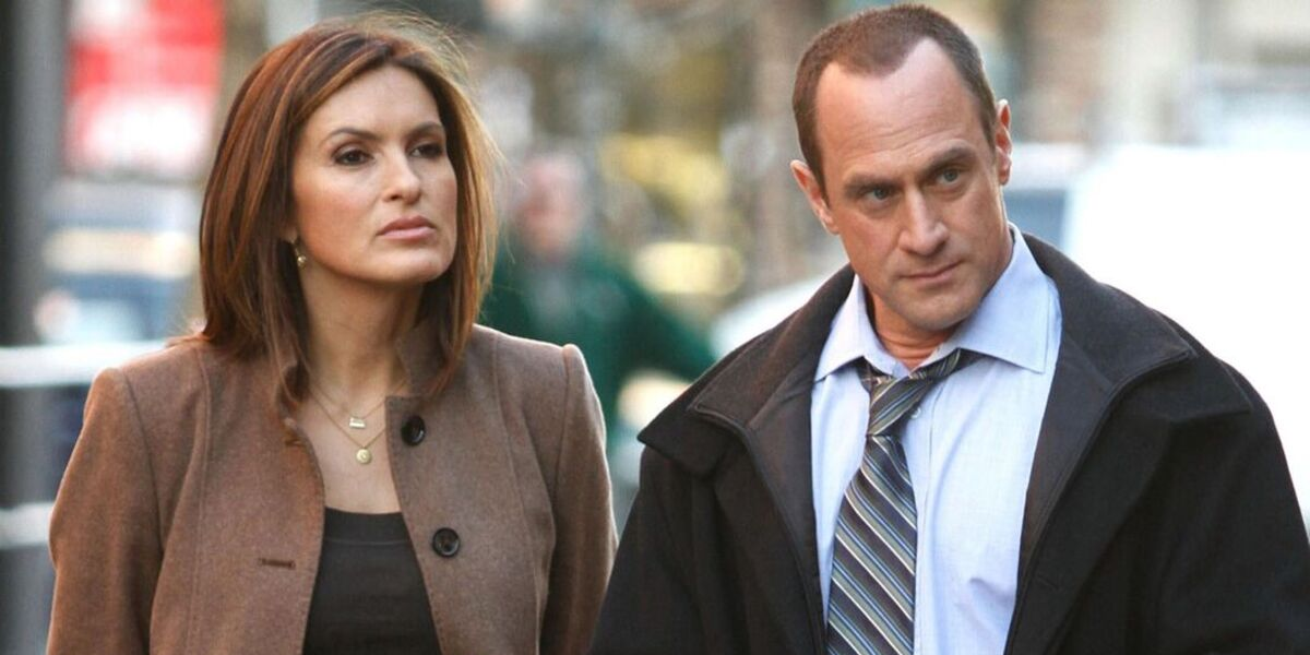 Law & Order: SVU Olivia Benson Mariska Hargitay Elliot Stabler Christopher Meloni NBC