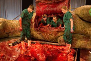 t. rex, tyrannosaurus rex, dinosaurs, autopsy