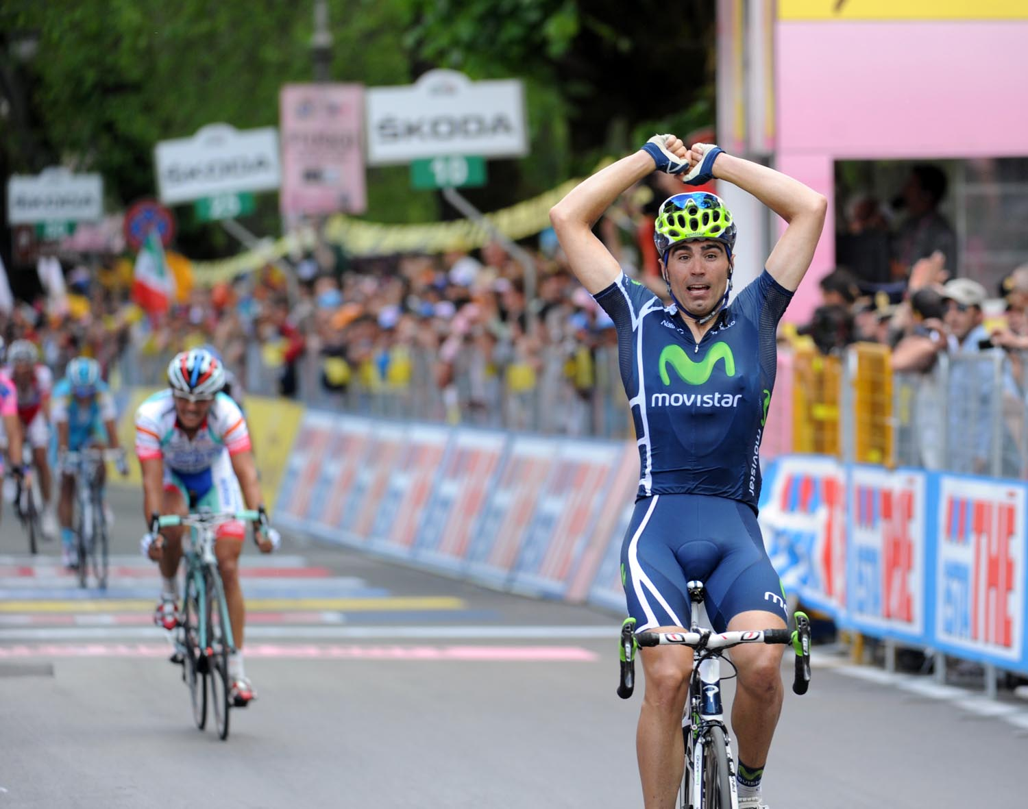 Francisco Ventoso wins, Giro d