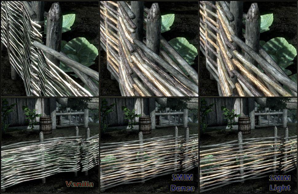Мод Skyrim Special Edition - Улучшения статической сетки