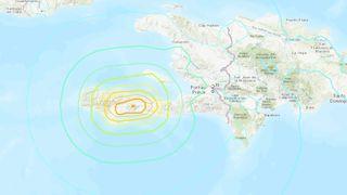 A 7.2-magnitude earthquake struck off Haiti on Aug. 14, 2021.