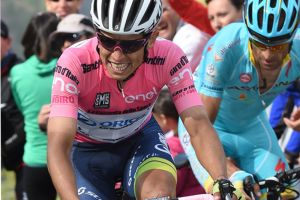 Esteban Chaves: 'It's only a bike race'