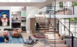 Contemporary living room design idea