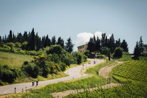 Riding the rolling hills of Tuscany on the Gallo Nero Grand Fondo