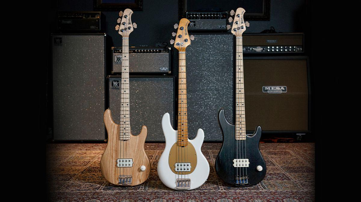 Ernie Ball Music Man reveals Joe Dart Signature Bass Collection
