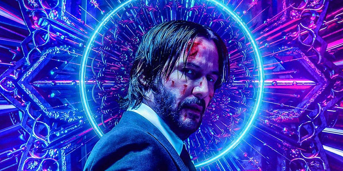 John Wick: Chapter 3 - Parabellum poster crop Keanu Reeves
