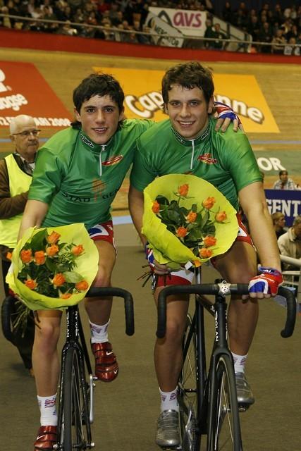 Kennaugh Blythe green jersey