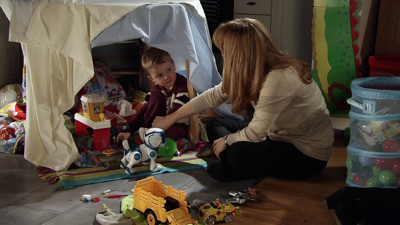 Growing close to Jack has brought back memories for Jenny of her own son (ITV)