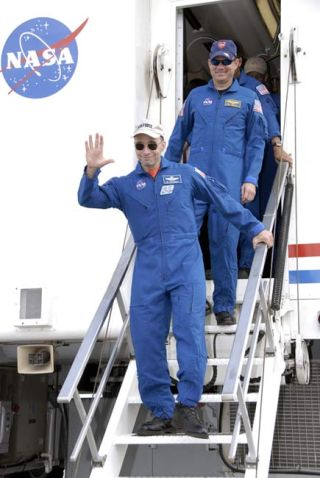 Astronauts Glad to Be Home After Space Mission