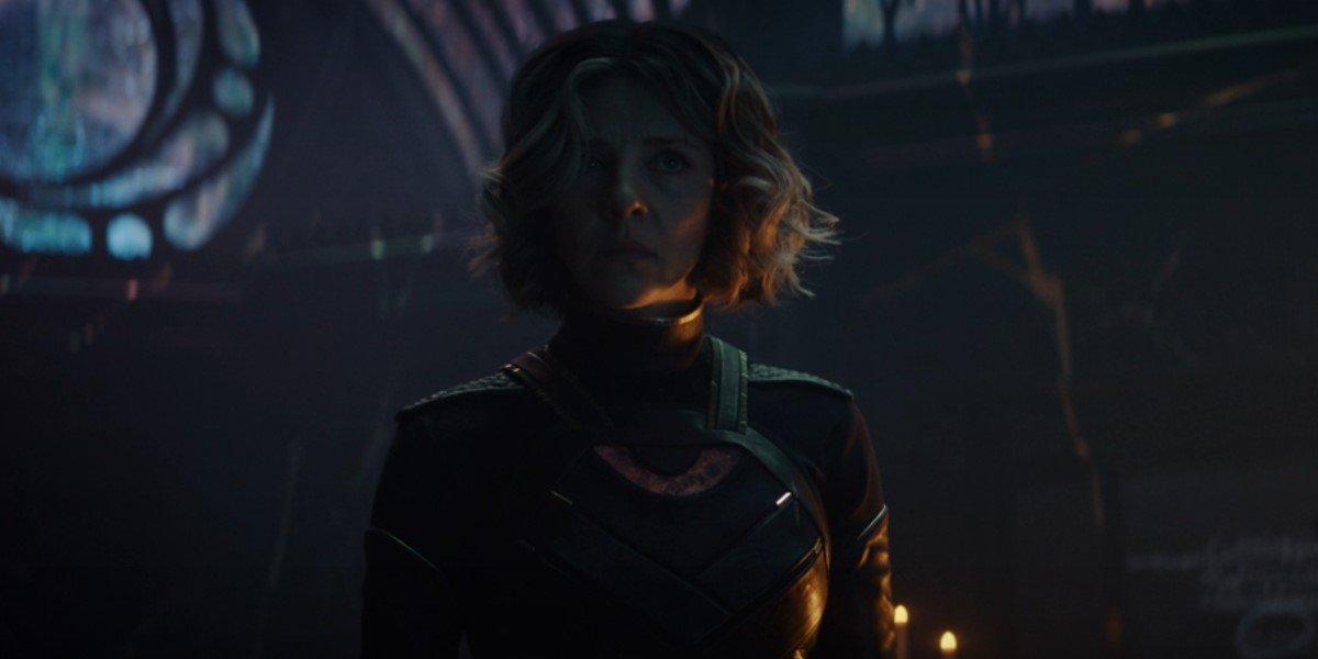 sylvie standing in the citadel after killing kang in loki season 1 finale