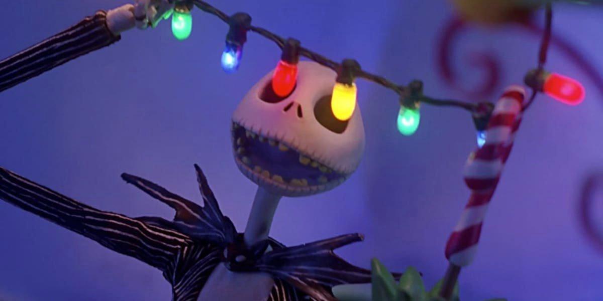 Jack Skellington in Nightmare Before Christmas