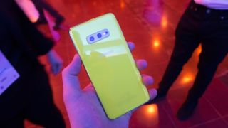 This is a Samsung Galaxy S10e, but colors are identical across the S10 line (Image credit: TechRadar)