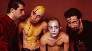 Nu metal stars System Of A Down