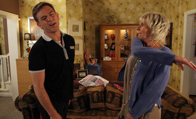 Corrie's Sue Johnston: Gloria shoots from the hip