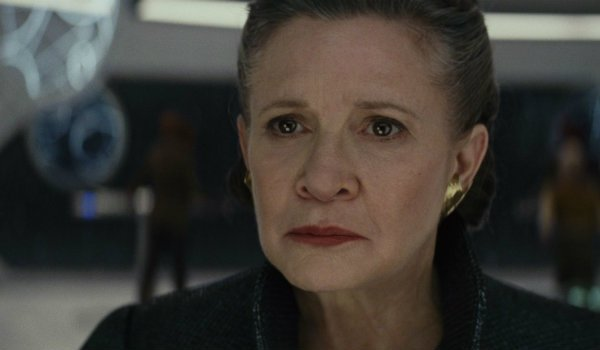 Star Wars The Last Jedi Carrie Fisher Leia