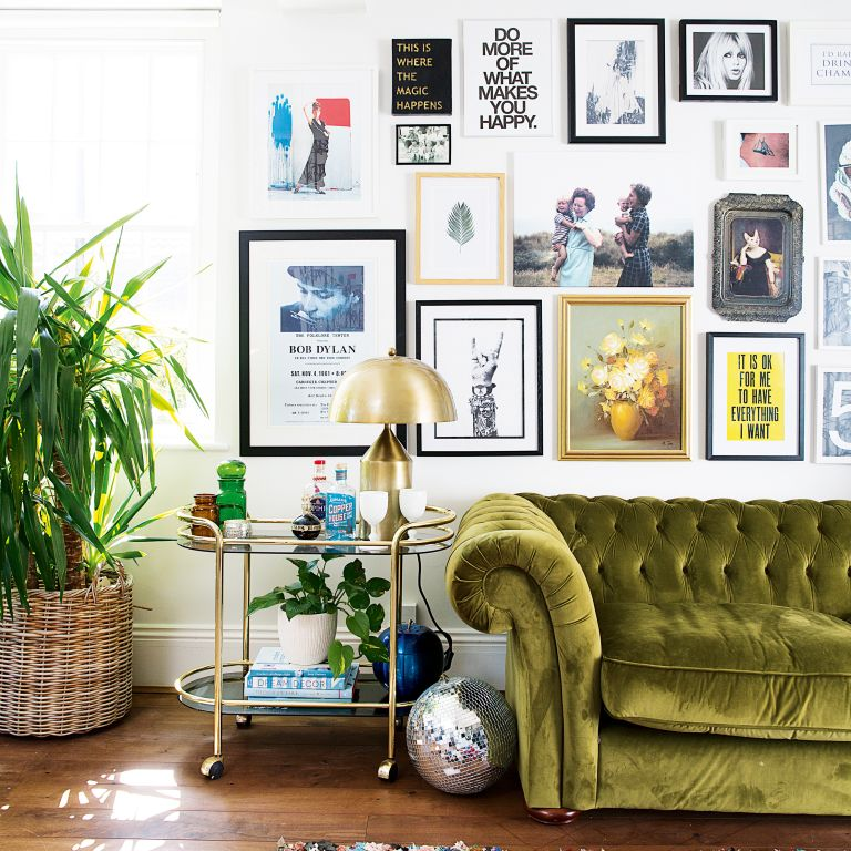 . How to hang a gallery wall  11 top tips   Real Homes