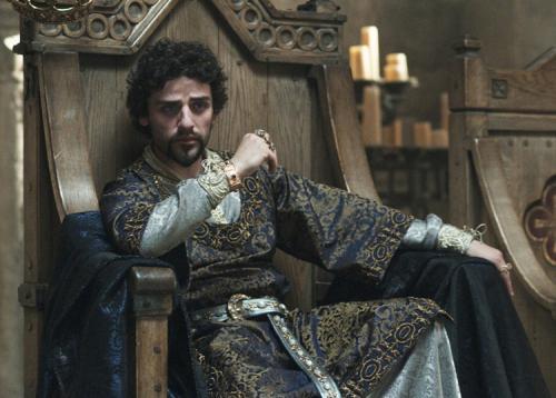 Robin Hood - Oscar Isaac plays Prince John in Ridley Scott's rousing adventure movie