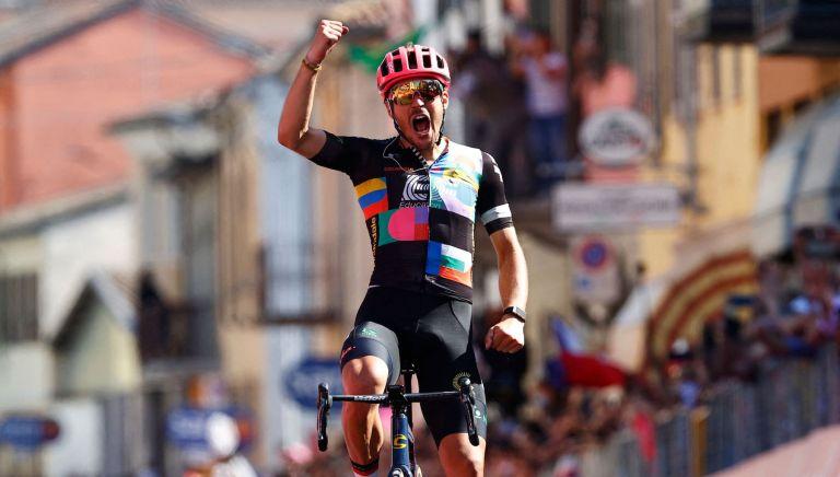Alberto Bettiol wins stage 18 of the Giro d'Italia