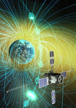 Japan's Arase spacecraft (ERG)