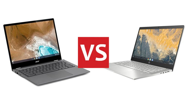 Acer Chromebook Spin 713 vs HP Pro C640 Chromebook