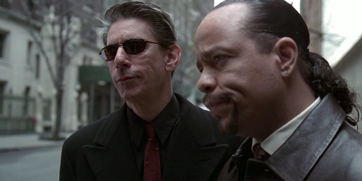 Richard Belzer and Ice-T on Law and Order: SVU
