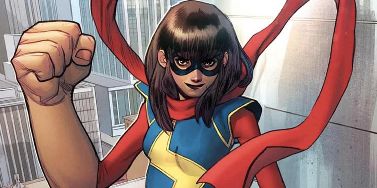 Ms. Marvel Comic