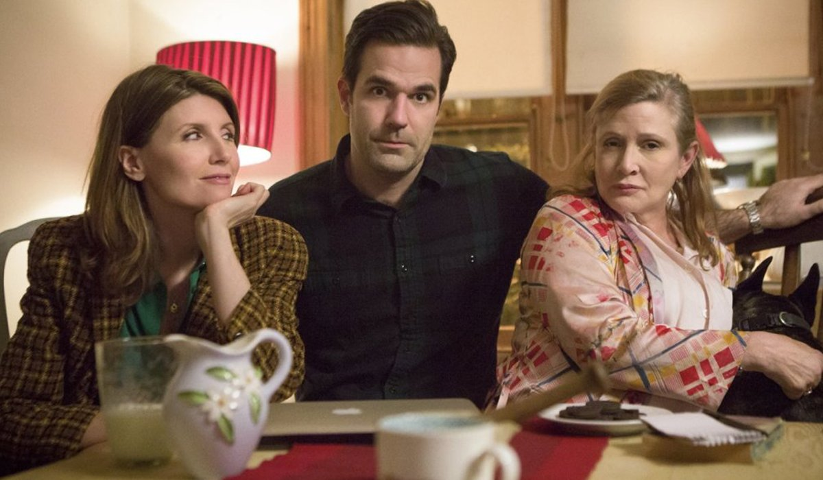 Catastrophe Sharon Horgan Rob Delaney Carrie Fisher