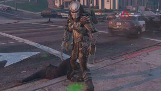 Set the Predator loose in GTA 5 with JulioNIB's next mod script   PC