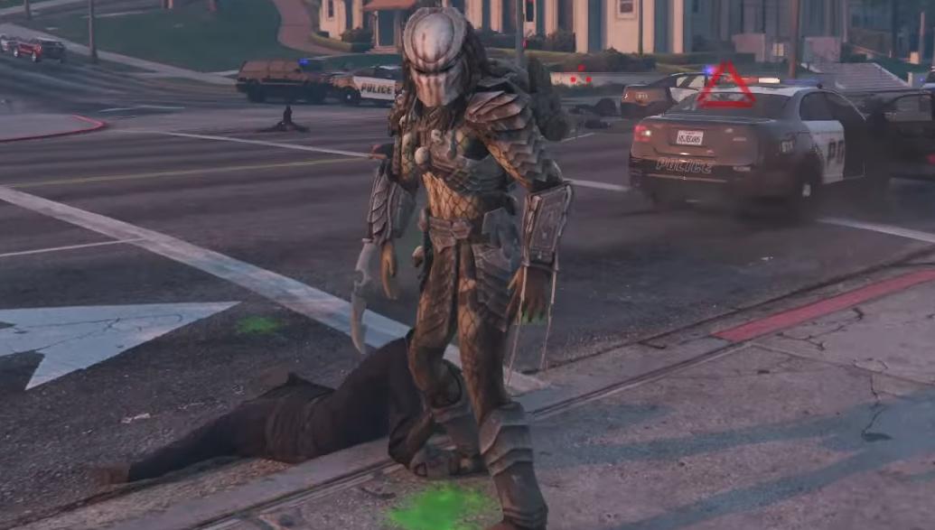 Set the Predator loose in GTA 5 with JulioNIB's next mod