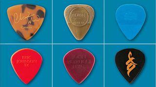 6 signature guitar picks
