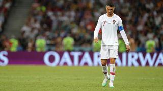 Cristiano Ronaldo Portugal out