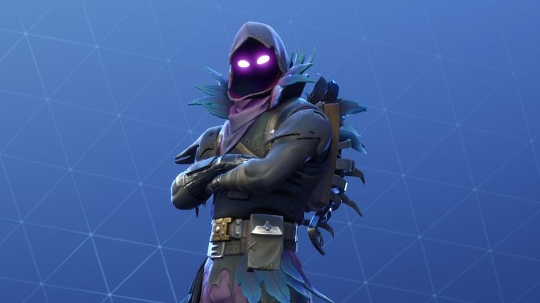 Fortnite S Raven Skin Edge Comes To Battle Royale Pc Gamer