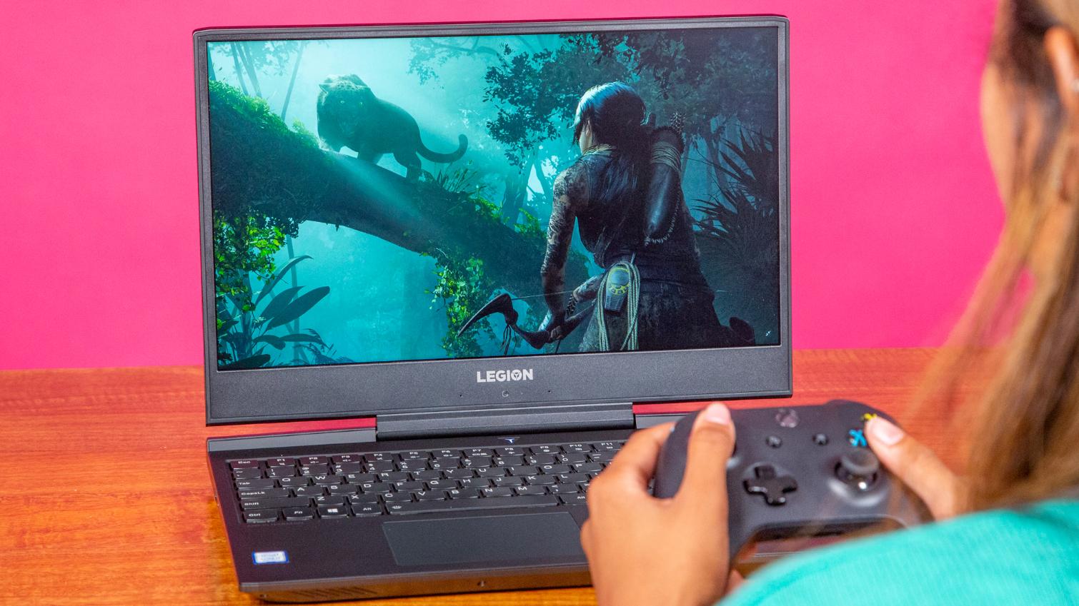 Lenovo Legion Y545 Laptop Review Glam Free Gaming Tom S Hardware Tom S Hardware