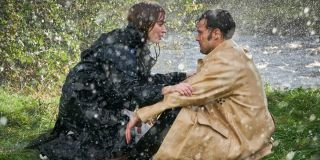 Jamie Dornan and Emily Blunt 2020 Wild Mountain Thyme still