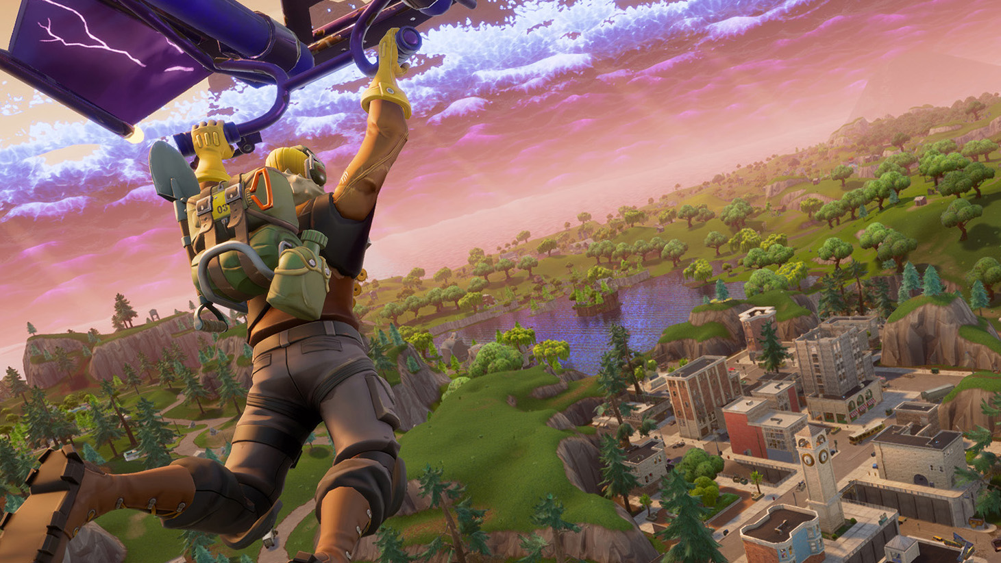 The best games with DLSS support: Fortnite